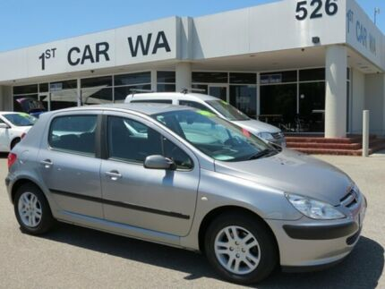 2005 Peugeot 307 Silver 4 Speed Automatic Sedan Victoria Park Victoria Park Area Preview