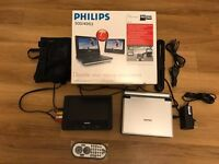 "Philips PET707 Portable DVD Player (7"")"