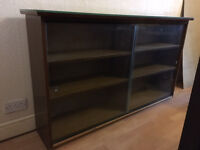 Bookcase / Display Cabinet - Glass fronted