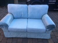 LAURA ASHLEY 2 Seater Pattern Sofa - Good Condition