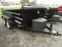 6x10 dump trailer with ramps