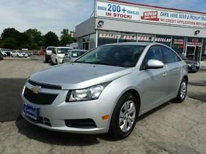 2013 Chevrolet Cruze LT  ECO BACK CAM NO ACCIDENTS NOT A RENTAL