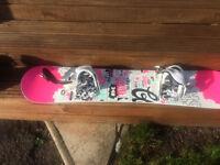 Childs snowboard