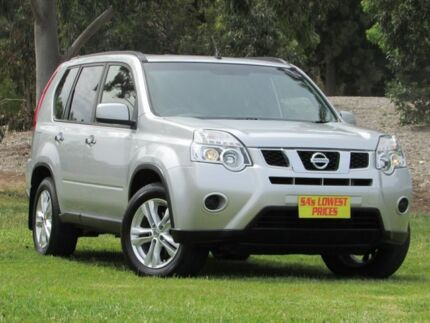 2013 Nissan X-Trail T31 Series V ST 2WD Silver 1 Speed Constant Variable Wagon Blair Athol Port Adelaide Area Preview