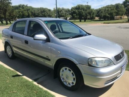 2001 Holden Astra TS MY2002 CD Silver 4 Speed Automatic Sedan