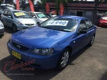 2004 Ford Falcon BA MK II Blue Automatic Sedan Lansvale Liverpool Area Preview