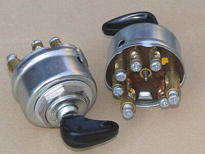 Zündschloss 0123 kpl mit Zündschlüssel für Deutz Schlepper Traktor mit Fernlicht