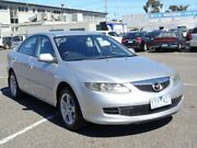 2007 Mazda 6 GG MY07 Sports Silver 5 Speed Auto Activematic Hatchback Maidstone Maribyrnong Area Preview