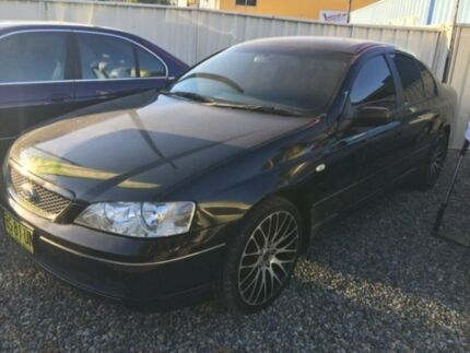2002 Ford Falcon BA Futura Black 4 Speed Auto Seq Sportshift Sedan Jewells Lake Macquarie Area Preview