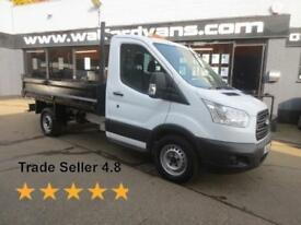 2016 Ford Transit 350 2.2TDCi 125ps L2 10'Steel Body Single Cab Tipper Diesel wh