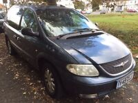 CHRYSLER DIESEL 7 SEATER GRAND VOYAGER LOOKS AND DRIVE EXCELLENT NO FAULTS ECONOMICAL AND RELIABLE