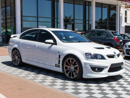 2012 Holden Special Vehicles Clubsport E Series 3 MY12 R8 White 6 Speed Sports Automatic Sedan Alfred Cove Melville Area Preview