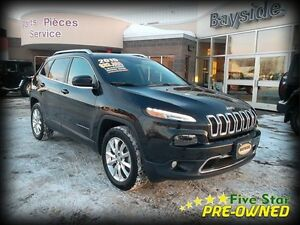 2015 Jeep Cherokee Limited LOAD! LOW, LOW KMS!