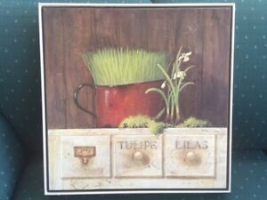 Herb Garden Wall Picture