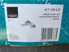 Bathroom tap wall mounted basin mixer Vado (rrp 429£) new!