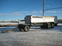 1999 Trojan Quad, Used Gravel Trailer