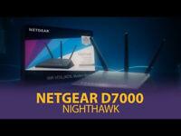 NETGEAR D7000 Nighthawk Dual-Band VDSL2/ADSL2+ Fibre Broadband Router