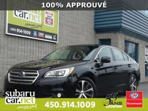2015 Subaru Legacy 3.6R LIMITED EYESIGHT, CAMÉRA RECUL, CLEF INT