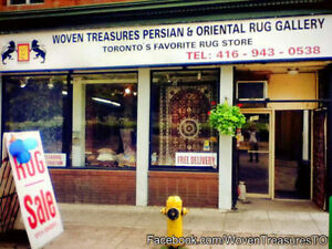 PERSIAN RUGS - GOING OUT OF BUSINESS - EVERYTHING MUST GO!