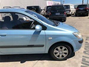 2011 Hyundai Getz TB Blue Automatic Hatchback