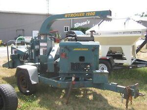 Wood Chuck Hyroller 1200 Wood Chipper