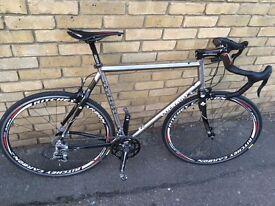 Custom Colnago Titanio titanium road racing bike 59 cm