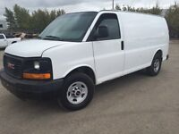 2009 GMC Savana Cargo Van COMES WITH SHELVING!