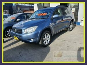 2007 Toyota RAV4 ACA33R Cruiser Grey Manual Wagon Lansvale Liverpool Area Preview