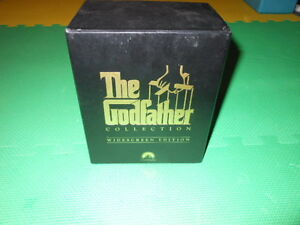 The Godfather Collection Box Set 6 VHS, Drama Widescreen Edition Gatineau Ottawa / Gatineau Area image 1