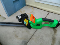 Powerbase Cordless Hedge Trimmer.