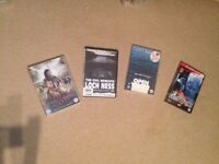 4 Action and Horror DVDs