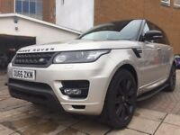 stunning top sec range rover sport! heated leather seats, sat nav and electric tailgate!