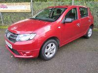 Dacia Sandero 1.2 16V Ambiance 5dr (cinder red) 2013