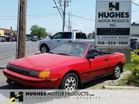 1987 Toyota Celica GT Convertible 2 door | Alloy Wheels