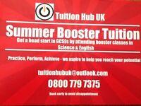 KS4 GCSE Summer Booster lessons