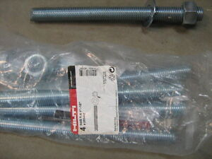 "HILTI 1""x12""   Anchors Kitchener / Waterloo Kitchener Area image 1"