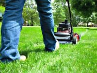Mowing and trimming lawns