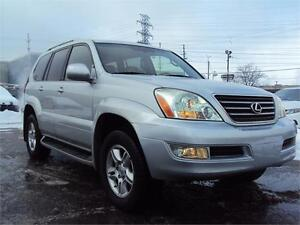 2007 Lexus GX 470 7 PASS NAV DVDS LEATHER SUNROOF HEATED SEATS