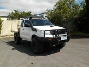 2010 Toyota Hilux KUN26R 09 Upgrade SR (4x4) White 5 Speed Manual X Cab Cab Chassis Newtown Geelong City Preview