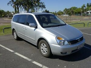 2011 Kia Carnival VQ MY11 S Silver 4 Speed Sports Automatic Wagon Gunn Palmerston Area Preview