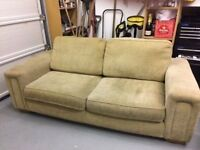 SOFA SETTEE IN SOFT COMFORTABLE FABRIC