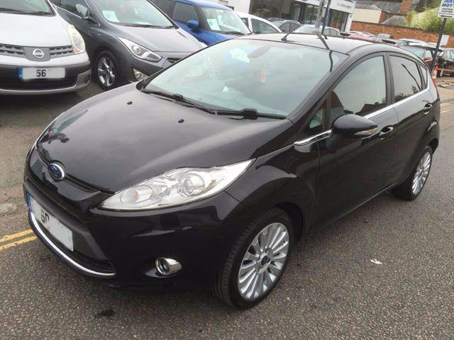 2010 ford fiesta 1 6 tdci 95 titanium 5dr 5 door hatchback in newport pagnell. Black Bedroom Furniture Sets. Home Design Ideas