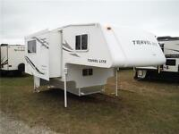 2011 Travel Lite 1000SLRX Truck Camper with Slideout