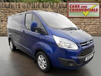 2015 FORD TRANSIT CUSTOM 290 L1 SWB Limited 125ps