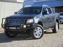 2012 Ford Ranger PX Wildtrak 3.2 (4x4) Grey 6 Speed Automatic Crewcab West Bathurst Bathurst City Preview