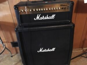 Marshall MG100HDFX Head and MG412 Cabinet for sale