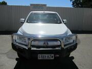 2013 Holden Colorado RG MY14 LT (4x4) White 6 Speed Manual Crew Cab Pickup Hillcrest Port Adelaide Area Preview