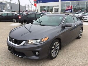 2013 Honda Accord Cpe EX-L V6 Navi Leather SunRoof