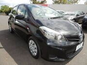 2014 Toyota Yaris NCP131R YRS Black 4 Speed Automatic Hatchback Oakleigh Monash Area Preview