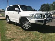 2011 Toyota Landcruiser VDJ200R 09 Upgrade GXL (4x4) White 6 Speed Automatic Wagon Young Young Area Preview